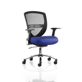 image-Aster Mid-Back Mesh Desk Chair Symple Stuff Colour: Serene