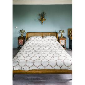 image-Honeycomb Duvet Cover Set The Chateau By Angel Strawbridge Size: Double - 2 Pillowcases (48 x 75 cm )