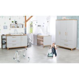 image-Caro Cot Bed 3 Piece Nursery Furniture Set roba