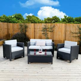 image-4 Seater Rattan Sofa Set Sol 72 Outdoor