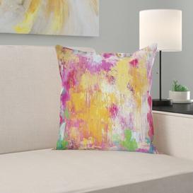 image-Ila 100% Polyester Cushion Cover Happy Larry
