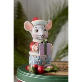 image-Heartwood Creek Christmas Mouse Mini Figurine