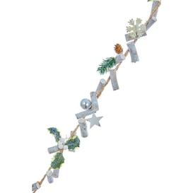 image-Festive Natural Twig Garland