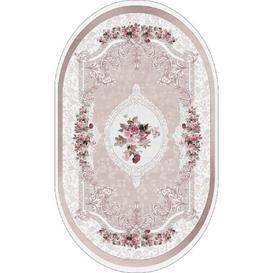image-Wortman Pink Indoor/Outdoor Rug Marlow Home Co. Size: Oval 140 x 200cm