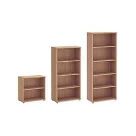 image-Avoca Bookcase, Beech, Free Next Day Delivery