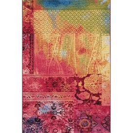 image-Marina Kilim Yellow/Pink Indoor/Outdoor Rug Longweave