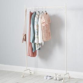 image-Cream Clothes Rail Cream