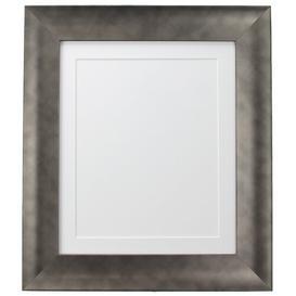 image-Adam Picture Frame Fairmont Park Colour: Pewter/White, Size: 69.96cm H x 54.72cm W x 2.5cm D, Photo Size: 45.72cm H x 30.48cm W