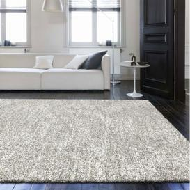 image-Mehari Plain Natural Coloured Grey Rug 240cm x 340cm