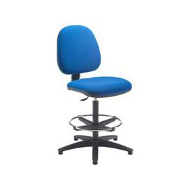 image-Breeze Deluxe Draughtsman Chair, Blue