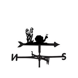 image-Weathervane in Snail Design - Large (Traditional)