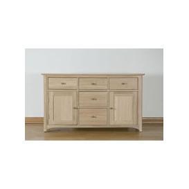 image-Toulouse Oak Dresser Base - 4ft 6in