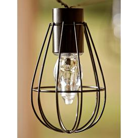 image-NEW Solar Teardrop Cage Festoon Lights