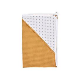 image-Grey Spots Children's Bath Sheet KraftKids