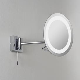 image-Astro 1097001 Gena switched, swing-arm, illuminated bathroom mirror