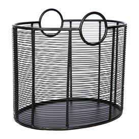 image-A by AMARA - Wire Log Basket