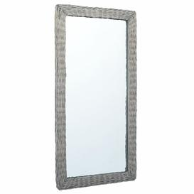 image-Fullmer Bathroom Mirror Brambly Cottage Finish: Brown