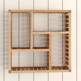 image-Avelar 50 x 50cm Bathroom Shelf Brambly Cottage