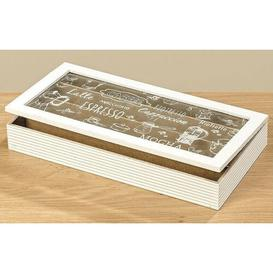image-Manufactured Wood Box August Grove