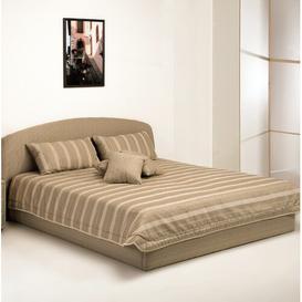 image-Aon Bedspread Brayden Studio Size: 177cm W x 232cm L, Colour: Beige