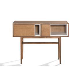 image-Bitty Oak Console Table 120cm, Natural Oak