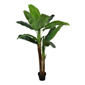 image-Artificial Banana Tree 2 Stems 160cm