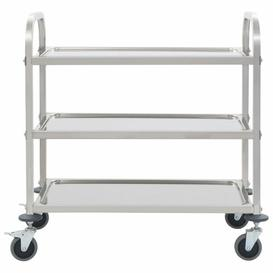 image-3-Tier Stainless Steel Serving Cart Symple Stuff