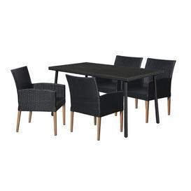 image-Matus 4 Seater Dining Set Sol 72 Outdoor