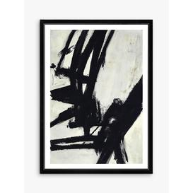 image-Nero 2 - Framed Print & Mount, 76 x 56cm, Black