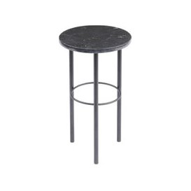 image-Libra Chancery Marquina Marble Side Table