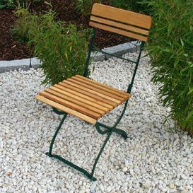 image-Munich Folding Garden Chairs Dakota Fields Colour: Green