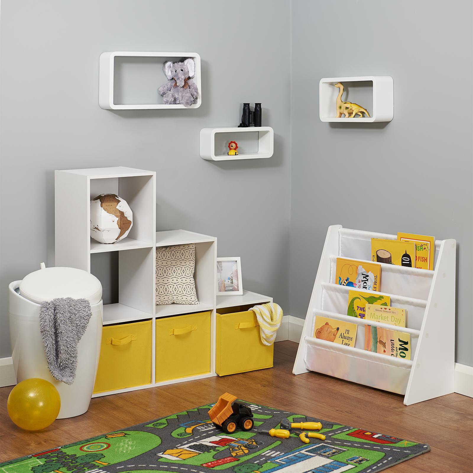 image-Hartleys Baby's First Bedroom Set - Yellow Boxes