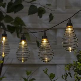 image-10 LED Wire Bulb String Lights Warm White