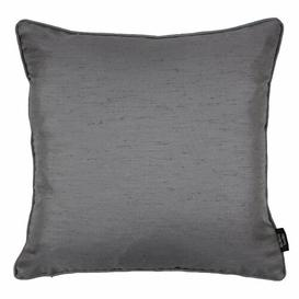 image-Bloxom Piped Cushion Cover Ebern Designs Colour: Silver, Size: 43 x 43cm