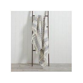 image-Dhadit 130cm x 150cm Throw Grey
