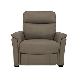 image-Compact Collection Piccolo Leather Static Armchair- World of Leather