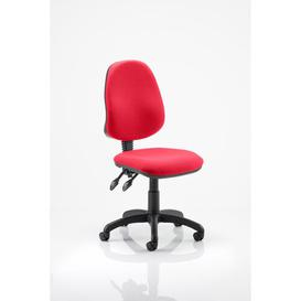 image-Mid-Back Desk Chair Symple Stuff Colour: Flame