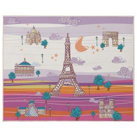 image-Wilbur Playmat Isabelle & Max Colour: Mauve/Orange