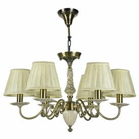 image-Roxie 6-Light Shaded Chandelier ClassicLiving