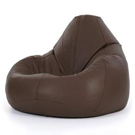 image-Cogbill Leather Recliner Bean Bag Chair Borough Wharf Upholstery Colour: Brown