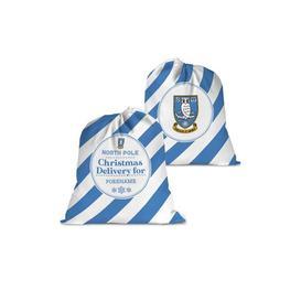 image-Personalised Sheffield Wednesday FC Christmas Delivery Santa Sack