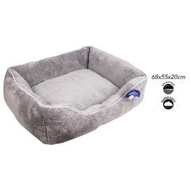 image-Barios Bolster Cushion in Grey Archie & Oscar Size: Medium (77cm W x 67cm D x 24cm H)