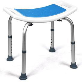 image-Bath Chair Shower Stool Safety Seat Bathroom Bench Mobility Aid Adjustable New