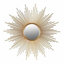 image-Sunburst Gold Mirror (Not Quite Perfect)