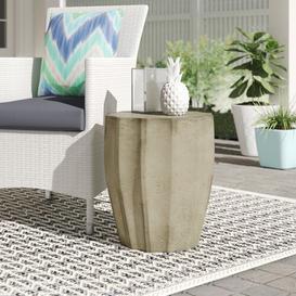 image-Spiro Side Table Dakota Fields Colour: Dark Grey