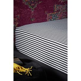 image-Joe Browns Brilliant Printed Striped Fitted Sheet