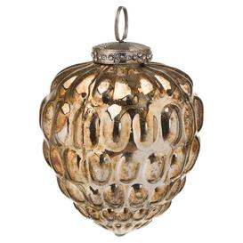 image-Hill The Noel Collection Burnished Acorn Hanging Bauble