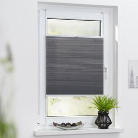 image-Lorine Sheer Pleated Blind Zipcode Design Size: 130 x 70cm, Colour: Grey
