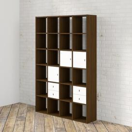 image-Kiley Bookcase Williston Forge Finish: Walnut