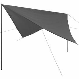 image-Tayla 4m x 4m Square Shade Sail Sol 72 Outdoor Colour: Anthracite